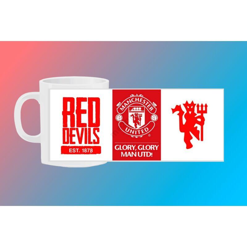 Manchester United egyedi bögre