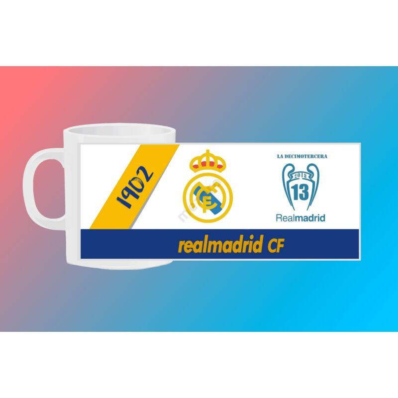 Real Madrid egyedi bögre