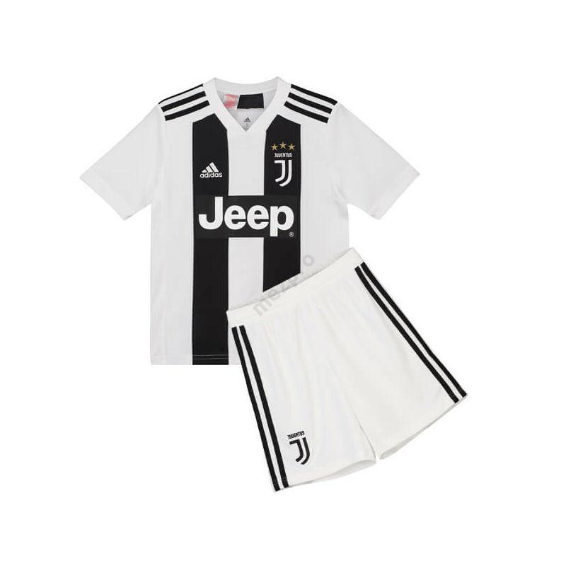 Juventus hazai rövid ujjú 2018-2019 mez+nadrág (szett) - Gyerek