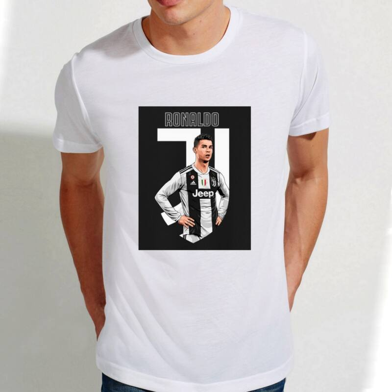 Juventus Ronaldo-s szurkolói póló - Férfi
