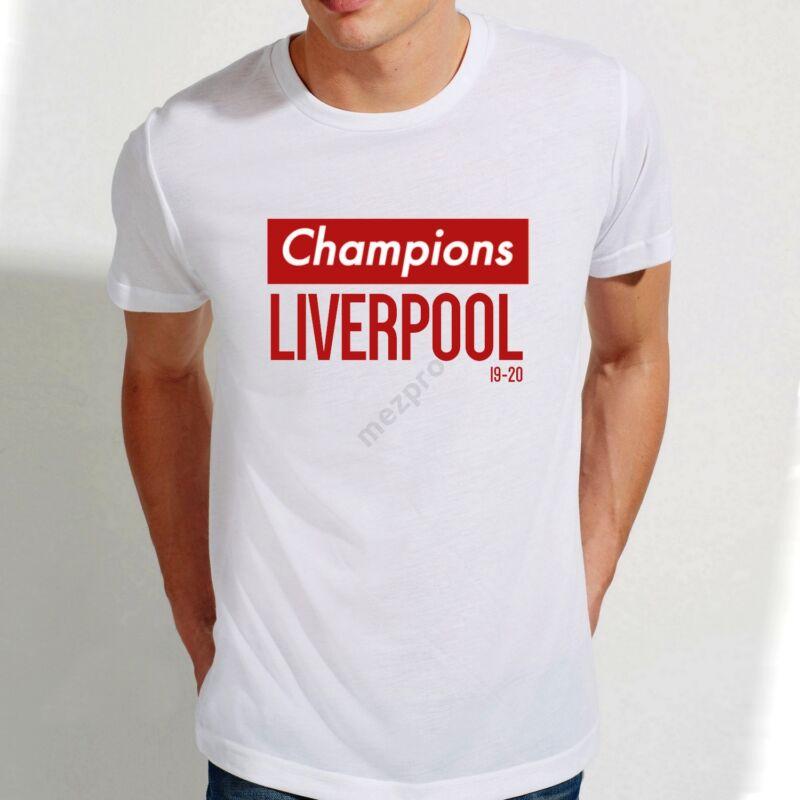 Liverpool bajnoki szurkolói póló - Férfi