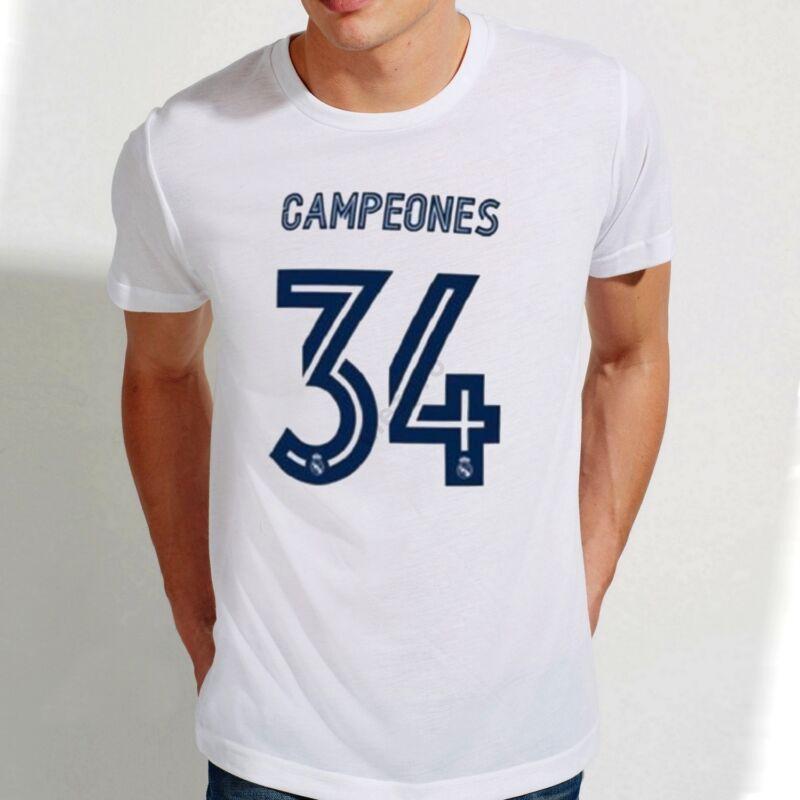 Real Madrid szurkolói bajnoki póló - Férfi