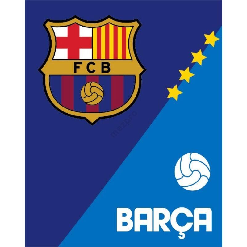 FC Barcelona vastag polár takaró 120*150cm