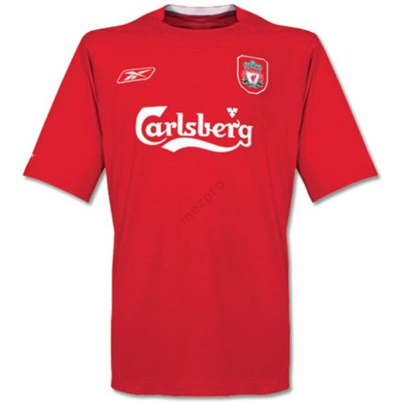 Liverpool 2004-2005 hazai rövid ujjú RETRÓ mez - Férfi