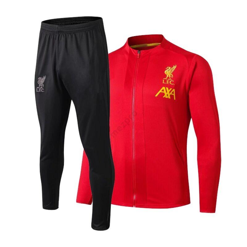 Liverpool melegítő szett (felső+alsó - cipzáros) - Férfi