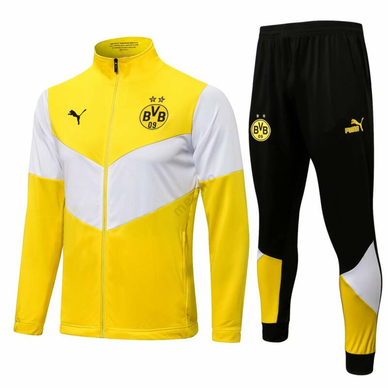Dortmund melegítő szett 2021-2022 (felső+alsó - cipzáros) - Férfi
