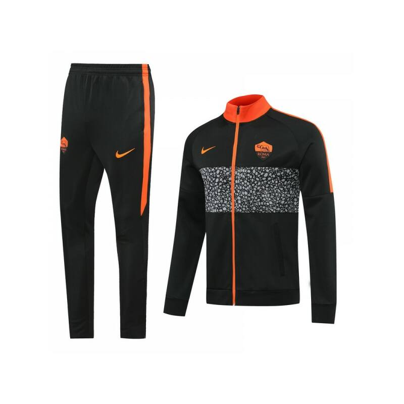 AS Roma melegítő 2020-2021 szett (felső+alsó - cipzáros) - Férfi