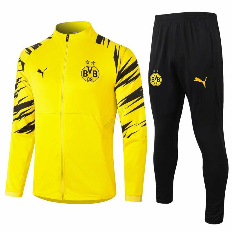 Dortmund melegítő szett 2020-2021 (felső+alsó - cipzáros) - Férfi