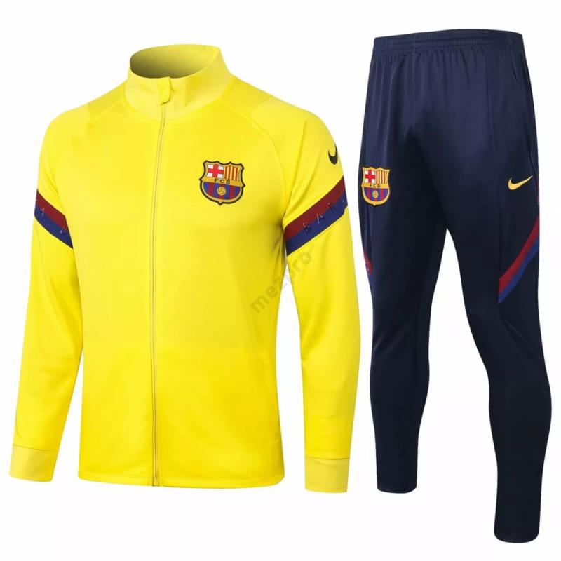 Barcelona melegítő szett (felső+alsó - cipzáros) - Férfi