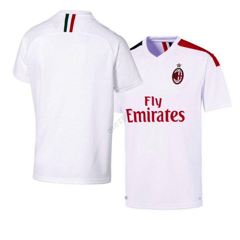 AC Milan vendég rövid ujjú 2019-2020 mez - Férfi